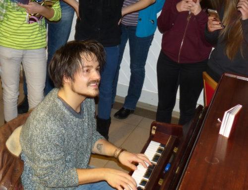 Milky Chance – Clemens Rehbein als Pate bei SOR-Seminar