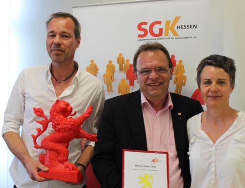 Verleihung des Hessenlöwen am 14.04.2018 in Langgöns