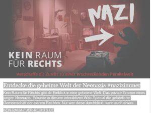Kein Raum für Nazis - Zimmer
